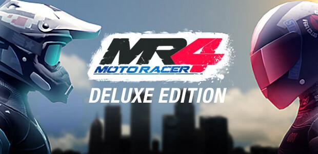 Moto Racer 4 Deluxe Edition - Cover / Packshot
