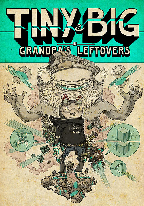 Tiny and Big: Grandpa's Leftovers - Cover