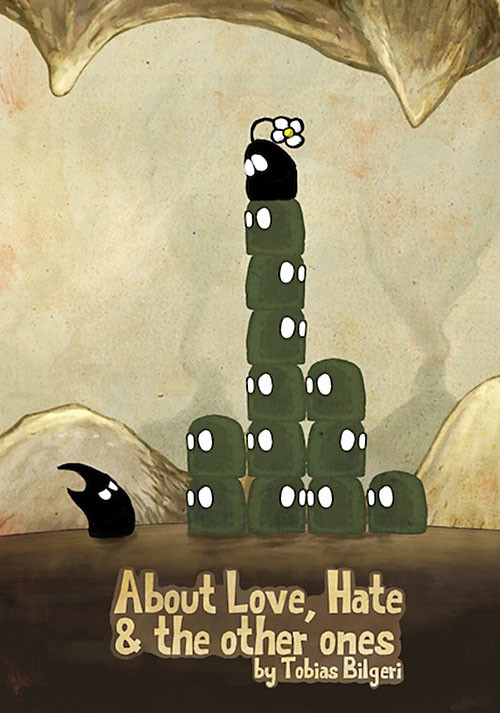 About Love, Hate and the other ones - Cover