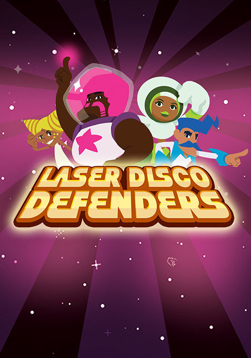 Laser Disco Defenders - Cover