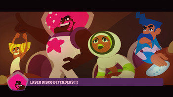 Screenshot1 - Laser Disco Defenders
