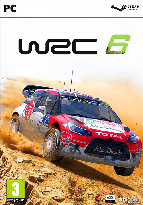 WRC 6 FIA World Rally Championship - Cover