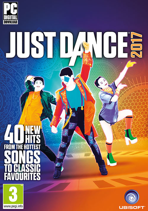 Just Dance 2017 - Cover / Packshot