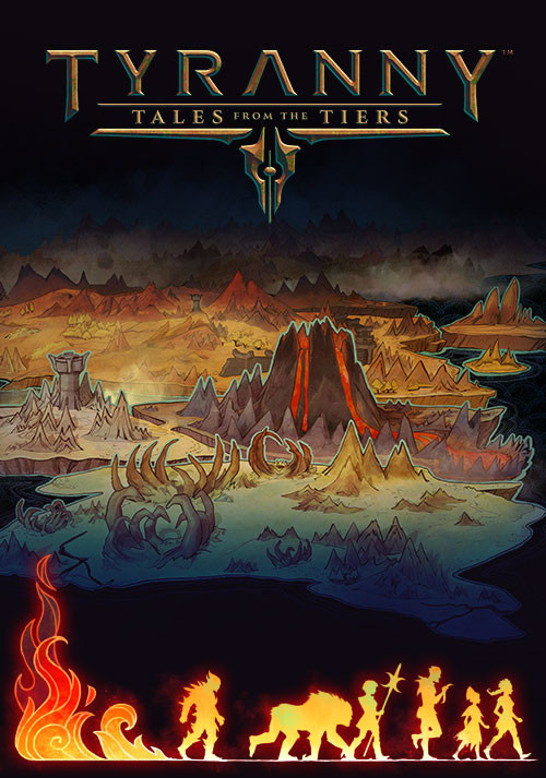 Tyranny - Tales from the Tiers - Cover