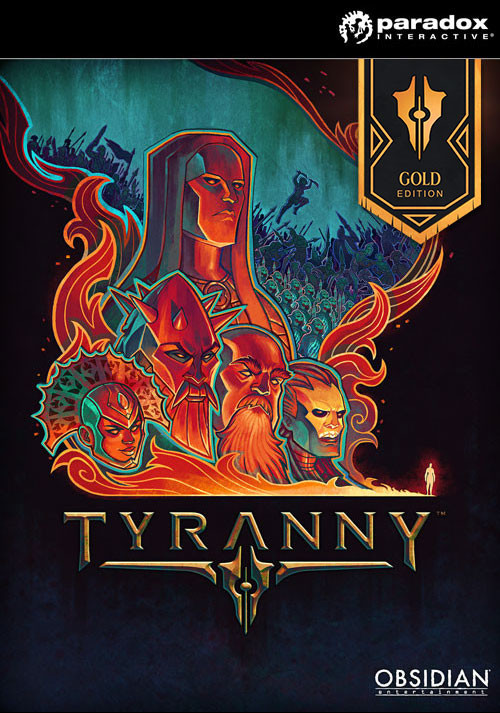 Tyranny - Gold Edition - Cover / Packshot