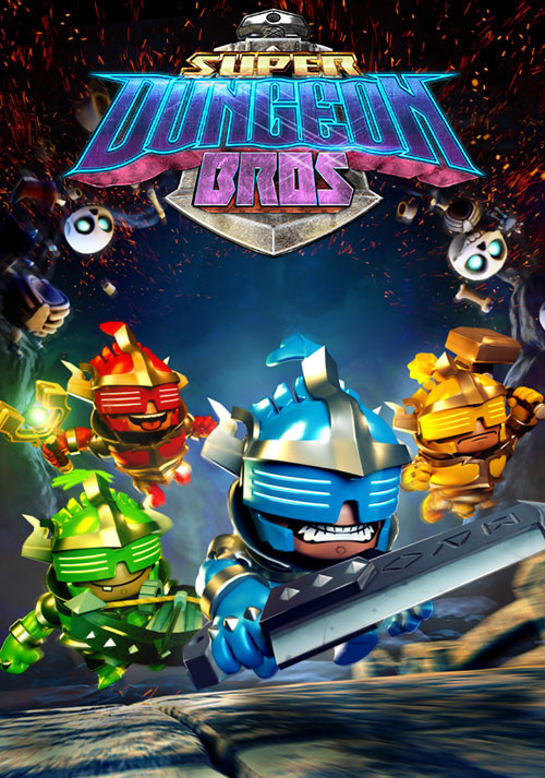 Super Dungeon Bros - Cover