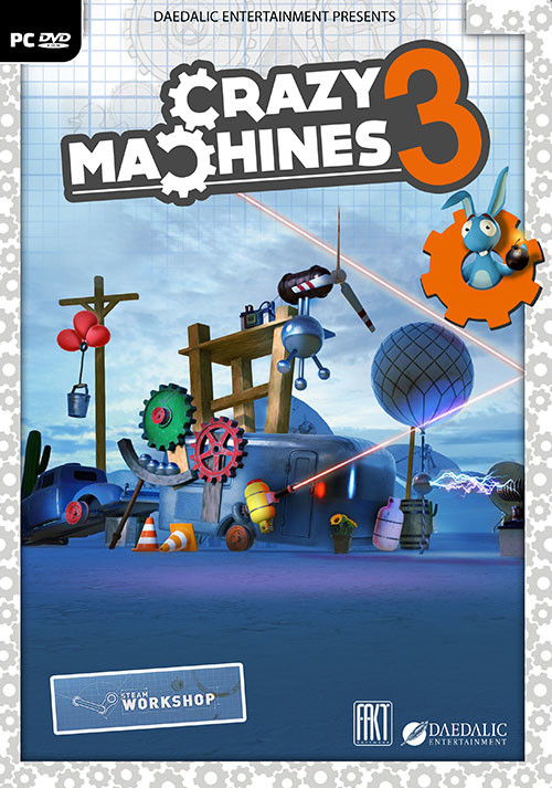 Crazy Machines 3 - Cover / Packshot