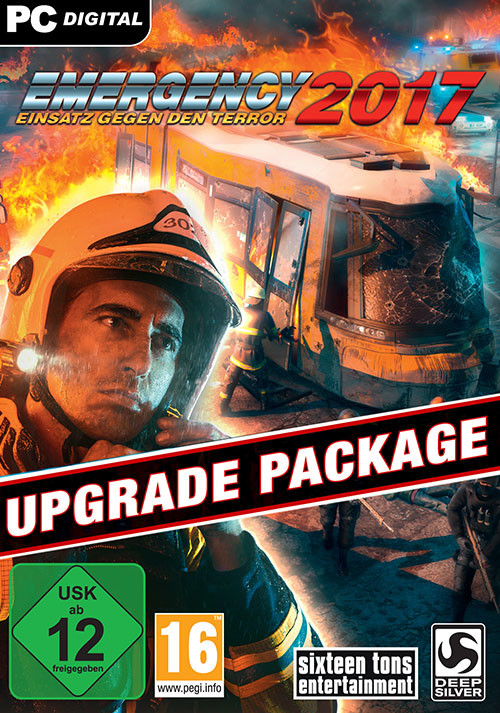Emergency 2017 - DVD Upgrade Pack - Cover