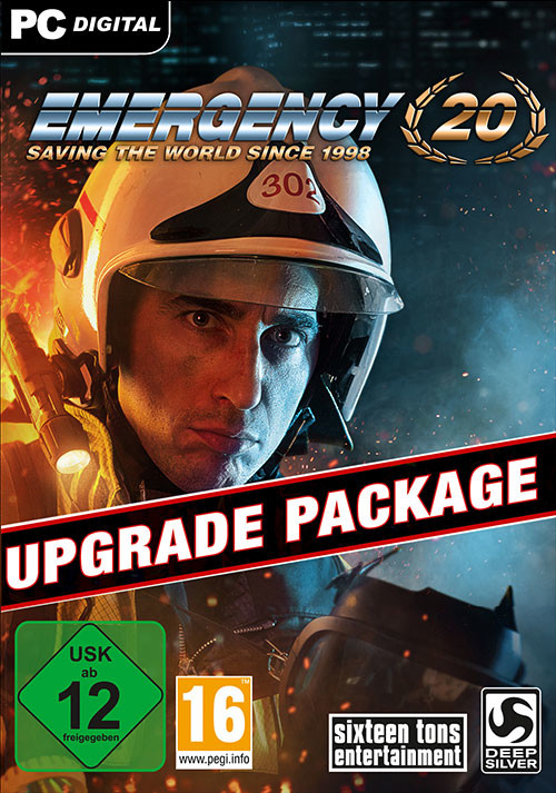 Emergency 20 - DVD Upgrade Package - Cover