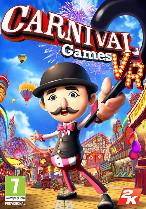 Carnival Games VR - Cover / Packshot