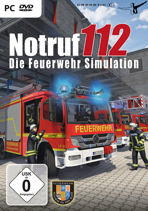 Notruf 112 – Die Feuerwehr Simulation - Cover / Packshot