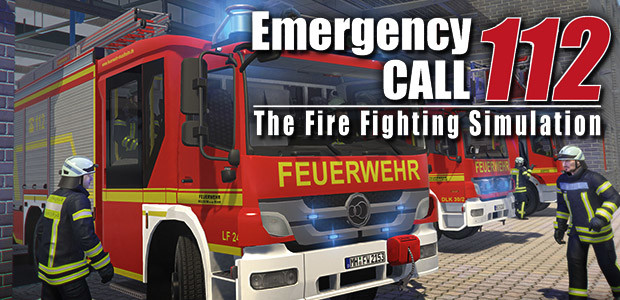 Emergency Call 112 – The Fire Fighting Simulation - Cover / Packshot