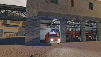 Screenshot1 - Emergency Call 112 Add-On KEF – The minor operations vehicle