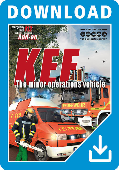 Emergency Call 112 Add-On KEF – The minor operations vehicle - Cover / Packshot