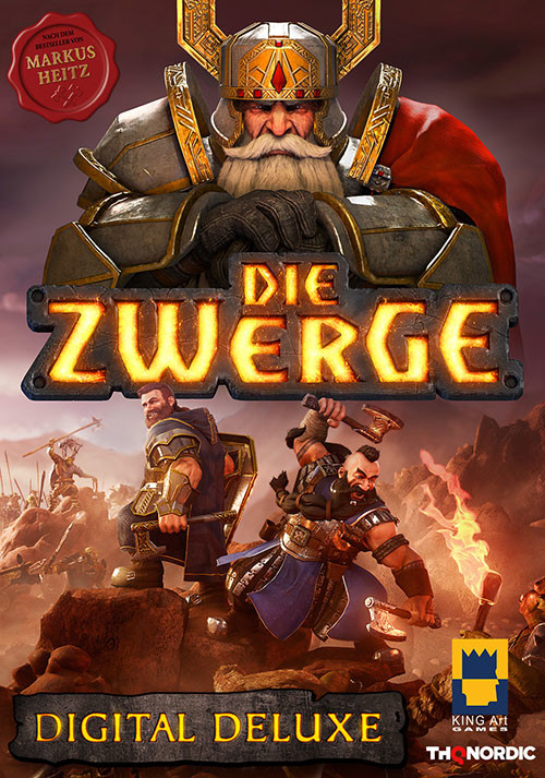 Die Zwerge Digital Deluxe Edition - Cover / Packshot