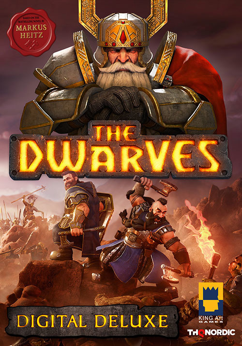 The Dwarves Digital Deluxe Edition - Cover