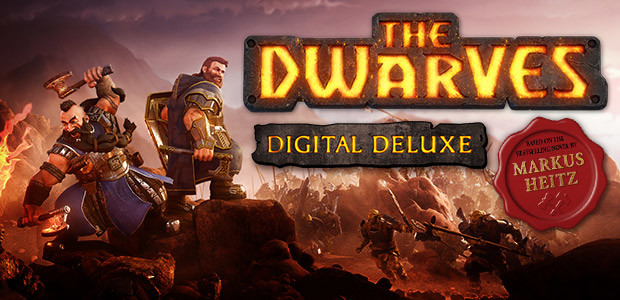 The Dwarves Digital Deluxe Edition - Cover / Packshot