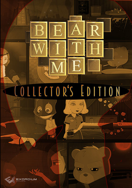 Bear With Me - Collector's Edition - Cover