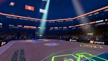 Screenshot1 - NBA 2KVR Experience