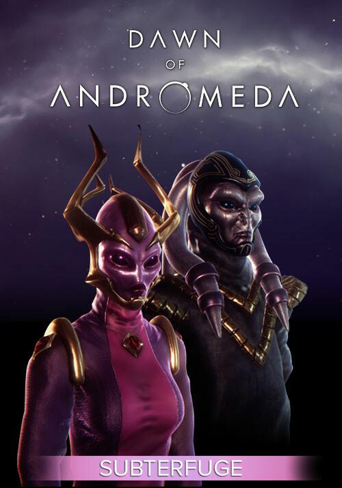 Dawn of Andromeda: Subterfuge - Cover / Packshot