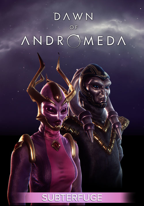 Dawn of Andromeda: Subterfuge - Cover