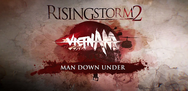 Rising Storm 2: Vietnam - Man Down Under - Cover / Packshot