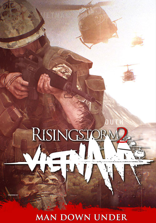 Rising Storm 2: Vietnam - Man Down Under - Cover