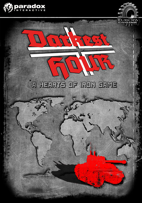 Darkest Hour: A Hearts of Iron Game - Cover
