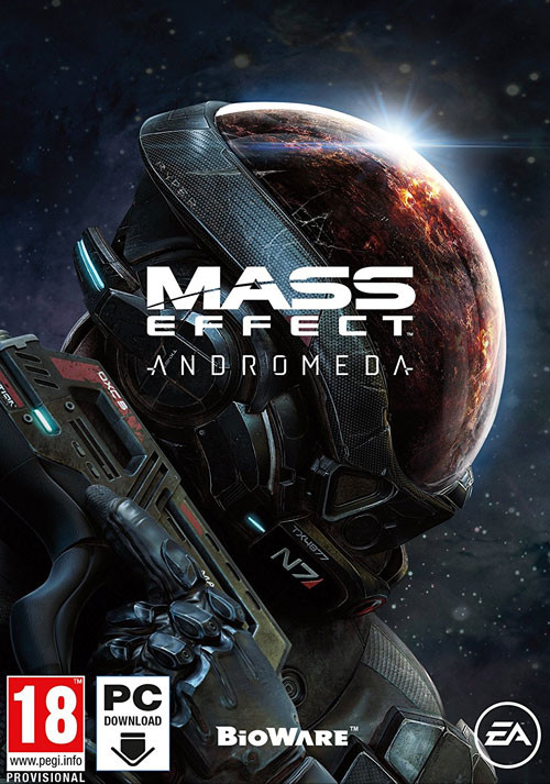 Mass Effect: Andromeda - Cover