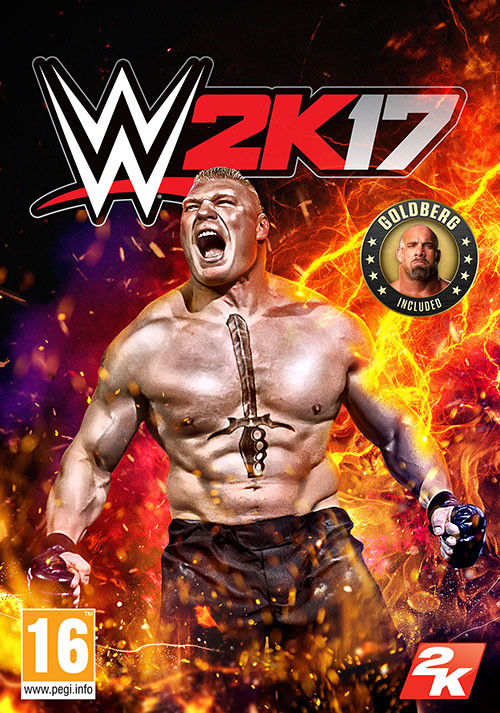 WWE 2K17 - Cover / Packshot