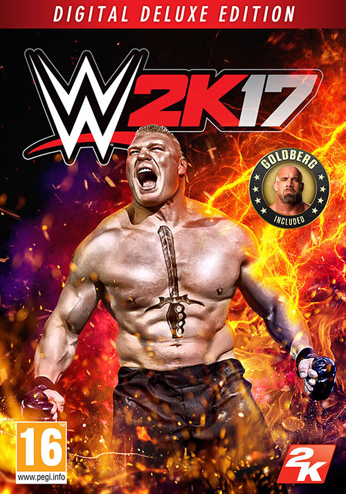 WWE 2K17 Digital Deluxe Edition - Cover / Packshot