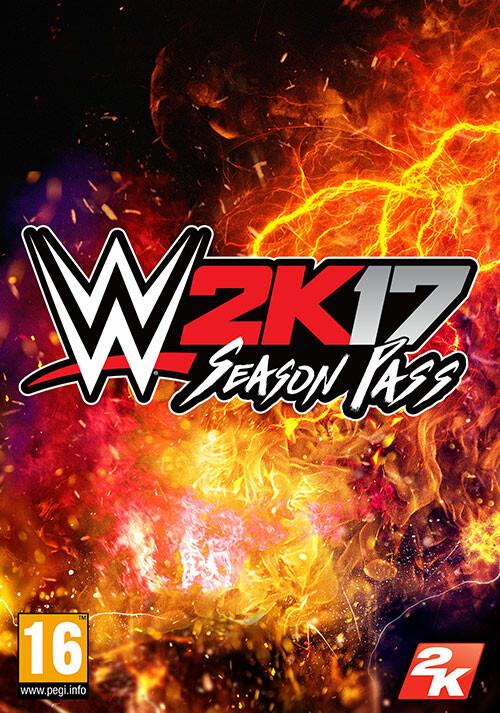 WWE 2K17 Season Pass - Cover