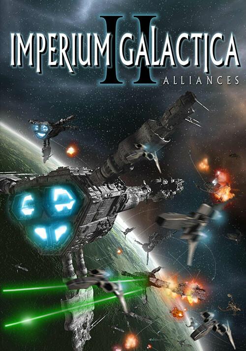 Imperium Galactica 2 - Cover