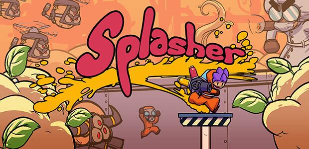 Splasher - Cover / Packshot