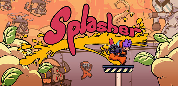 Splasher - Cover / Packshot