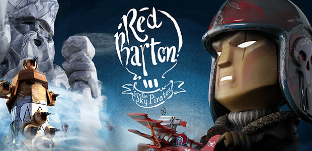 Red Barton and the Sky Pirates - Cover / Packshot