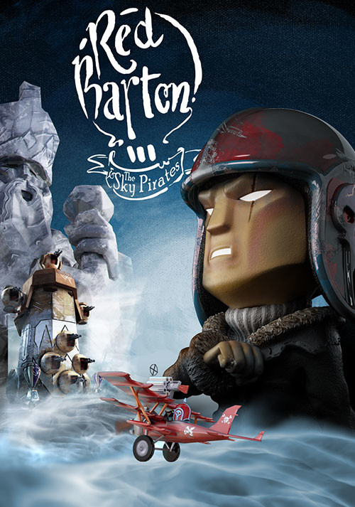 Red Barton and the Sky Pirates - Packshot