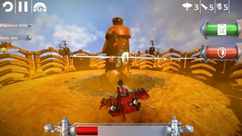 Screenshot1 - Red Barton and the Sky Pirates
