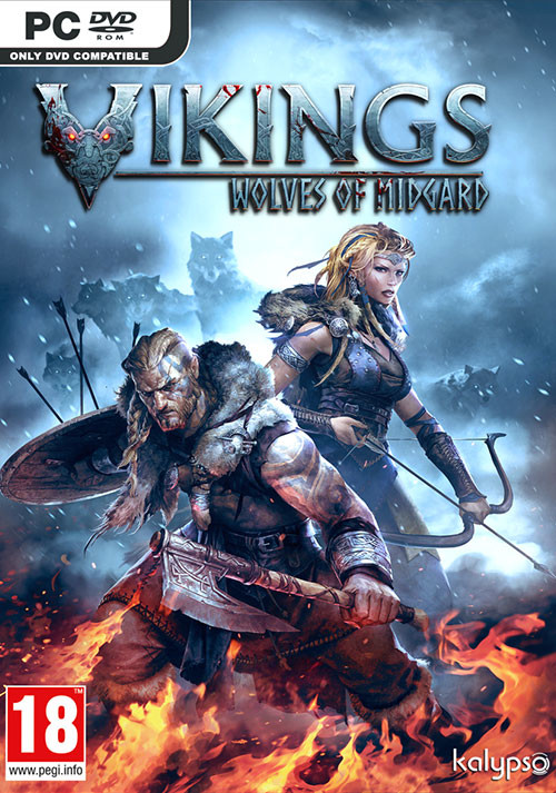 Vikings - Wolves of Midgard - Cover