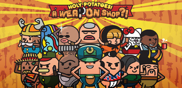 Holy Potatoes! A Weapon Shop?! - Cover / Packshot