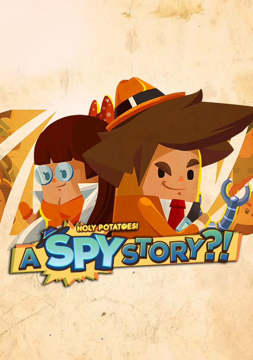 Holy Potatoes! A Spy Story?! - Cover