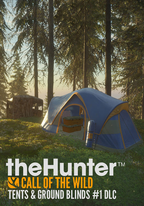 theHunter: Call of the Wild - Tents & Ground Blinds - Cover / Packshot