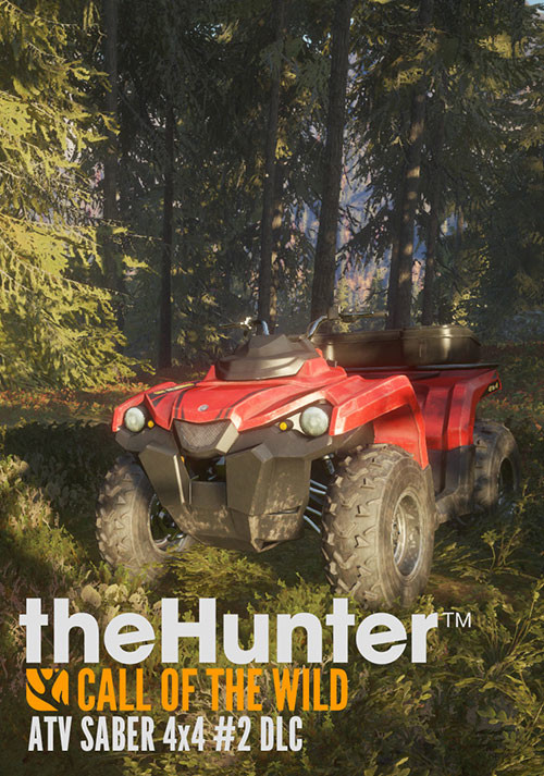 theHunter: Call of the Wild - ATV SABER 4X4 DLC - Cover