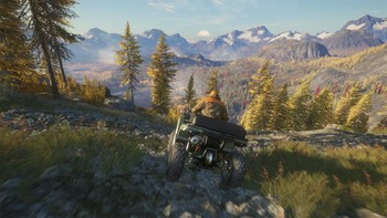 Screenshot1 - theHunter: Call of the Wild - ATV SABER 4X4 DLC