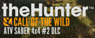 theHunter: Call of the Wild - ATV SABER 4X4 DLC