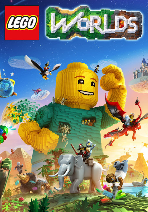 LEGO Worlds - Cover