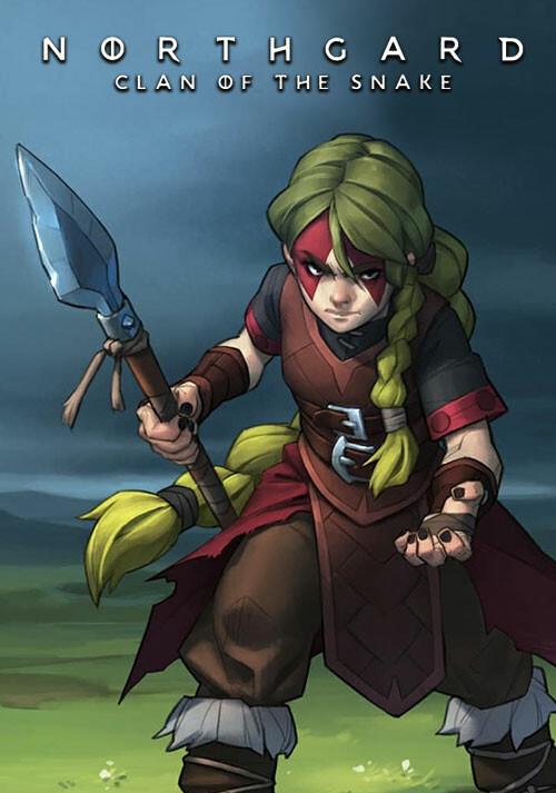 Northgard - Sváfnir, Clan of the Snake - Cover