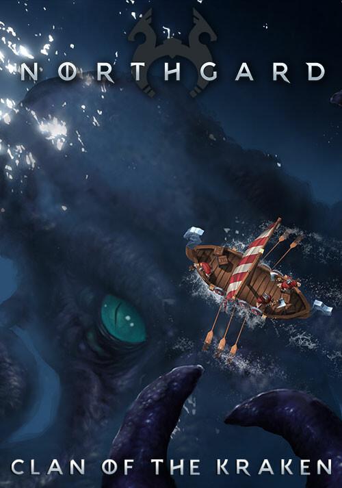 Northgard - Lyngbakr, Clan of the Kraken - Cover / Packshot