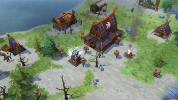 Screenshot1 - Northgard - Lyngbakr, Clan of the Kraken