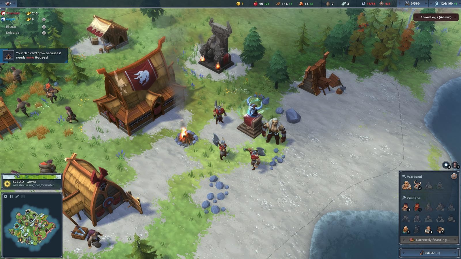 Northgard - himminbrjotir clan of the ox download full